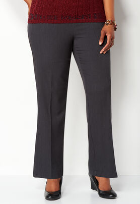 Women\'s Plus Sized Pull-on Downtown Trouser Petite ...