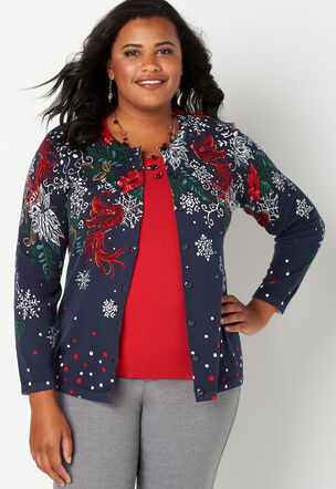 Plus Size Sweaters Cardigans Sizes 14 24 Christopher Banks