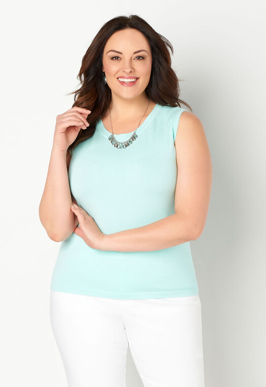 Perfect Solid Plus Size Tank