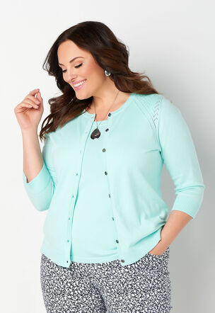 a736b36eb29 Lighter Layers Plus Size Sweater Set. Buy All or One. Close The product  image is missing!