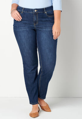 5d82bd60cb938 Women s Ombre Embroid Denim from CJ Banks®