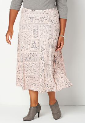 6f5d17d548c71 Women s Brushed Ity Skirt from CJ Banks®