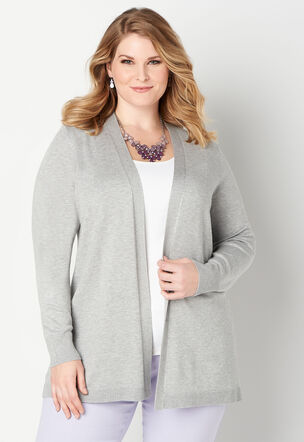 b126128a13 Tie Back Cardigan Plus Size Sweater.  54.95  14.99. Close The product image  is missing!