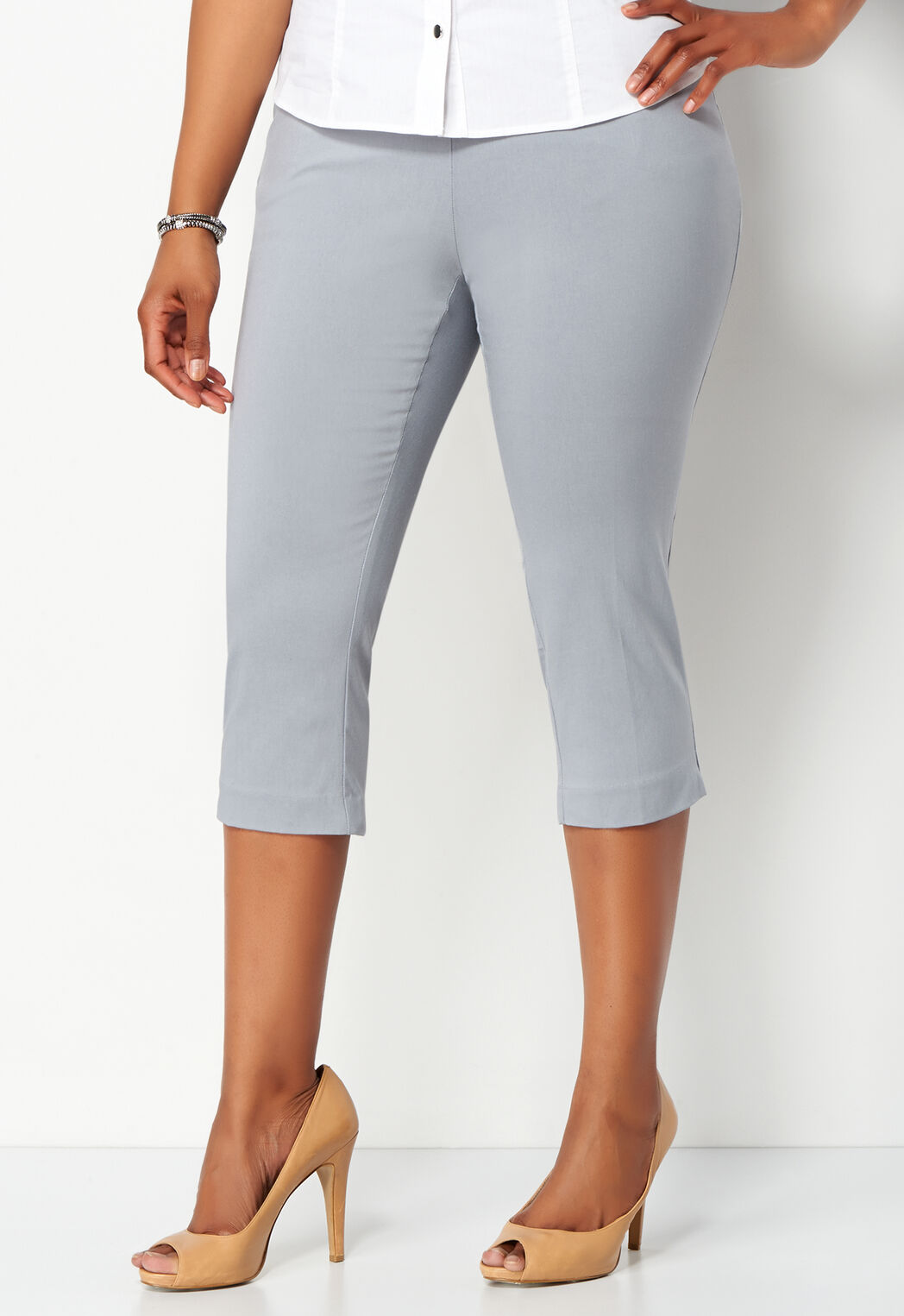 fb505c96ade Women s Plus Sized Bengaline Crop Pant from Christopher   Banks ...