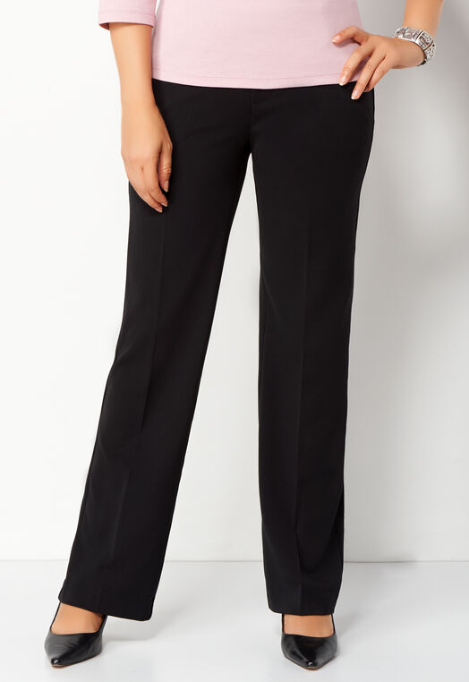 Pull-on Downtown Trouser Petite Pant at Christopher & Banks in Charleston, WV | Tuggl