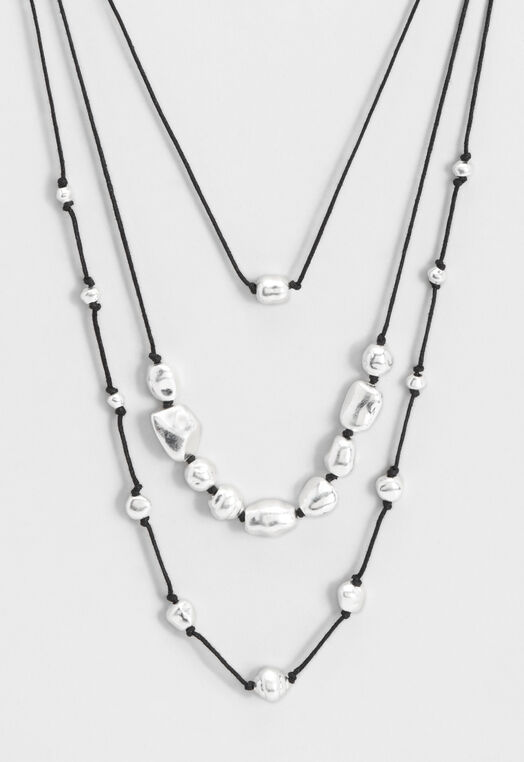3 Corded Necklace with Beads at Christopher & Banks in Charleston, WV | Tuggl