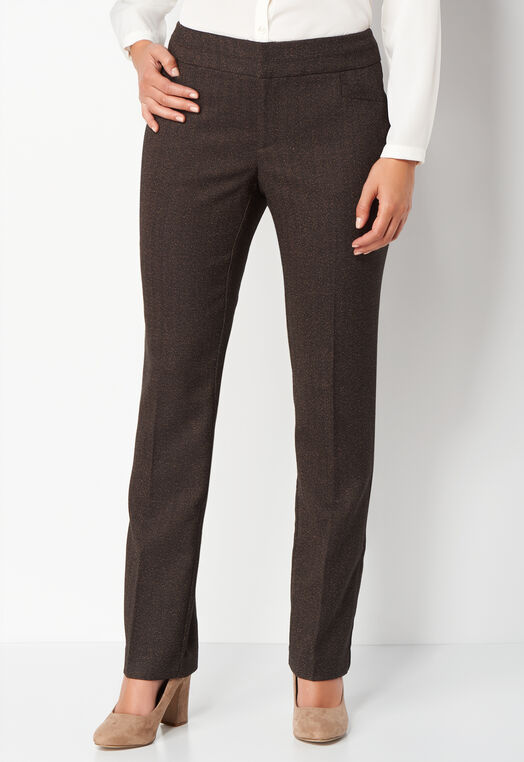 Menswear Straight Leg Trouser at Christopher & Banks in Charleston, WV | Tuggl