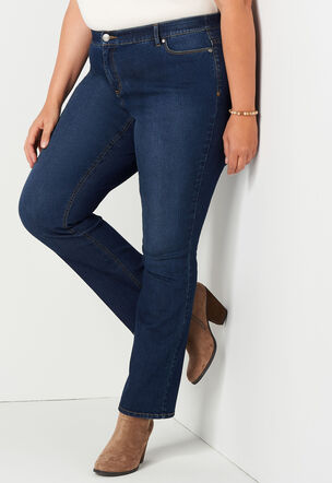 4f0669eba9c Everyday Barely Boot Plus Size Jean Tall