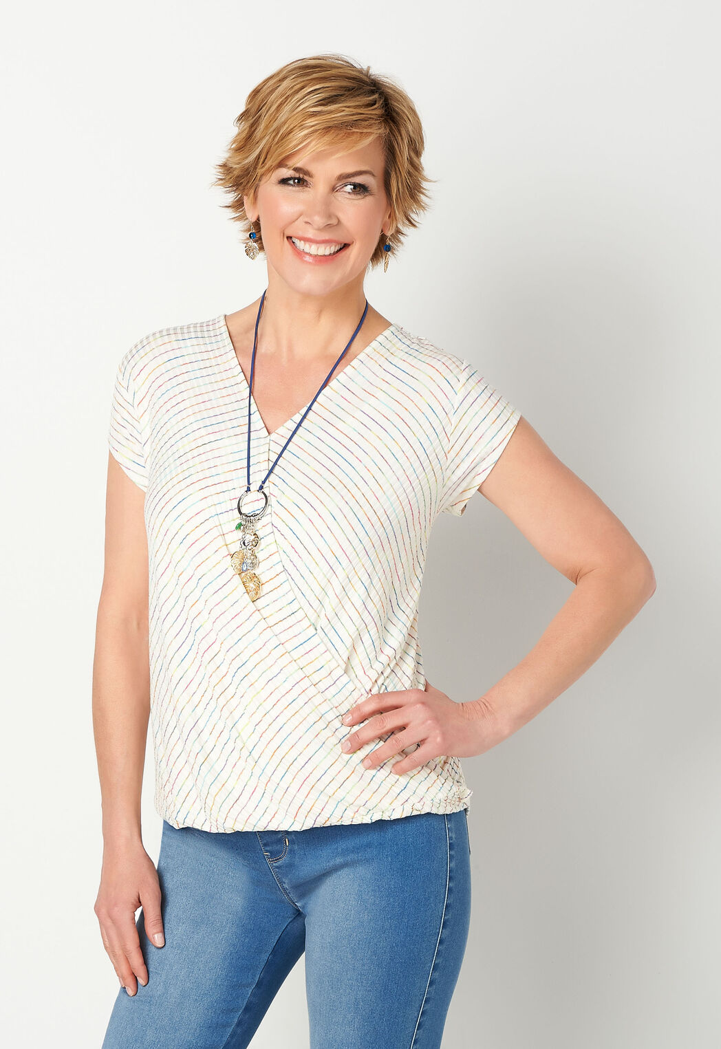b05b60d7ed54f3 ... Crossover Texture Knit Top. Previous. add to wish list · add to wish  list