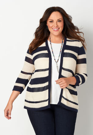0b4ece04b11 Plus Size Sweaters & Cardigans, Sizes 14-24 | Christopher & Banks®