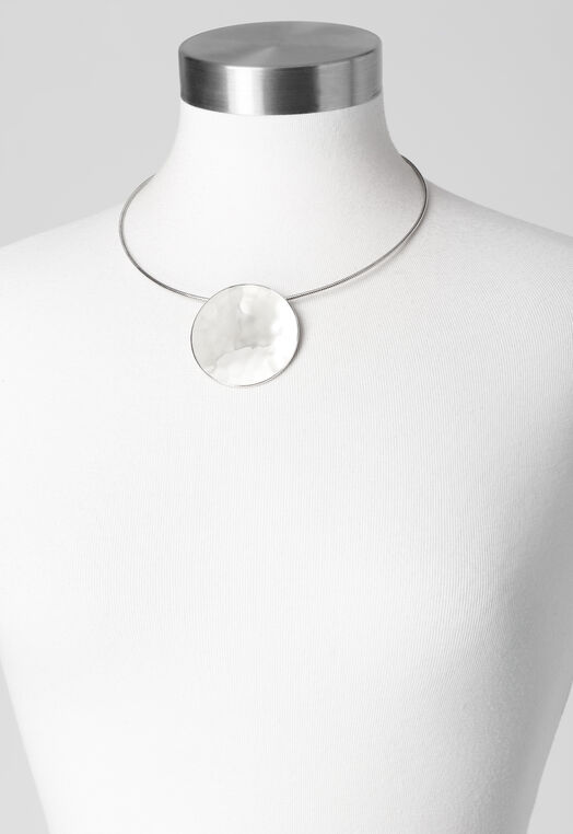 Circle Statement Necklace at Christopher & Banks in Charleston, WV | Tuggl