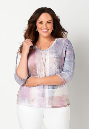 9f7fe7f5d86c15 Women's Plus Size Shirts & Fashion Tops, Sizes 14-24 | Christopher ...