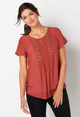 9fd383527 Women's Tops - Casual & Dressy Tops for Women | Christopher & Banks®