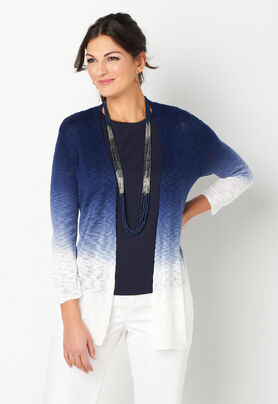 d54399c2a97 Textured Yarn Ombre Cardigan - CBK Web Store