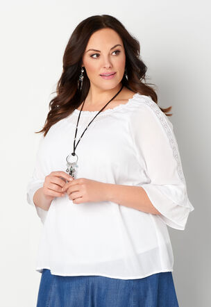 a13fc28cac6 Women s Plus Size Shirts   Fashion Tops