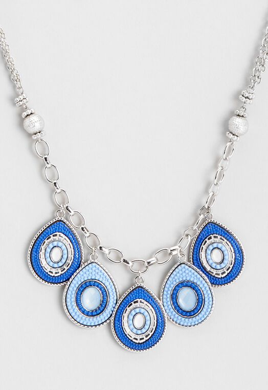 Seadbead Statement Necklace at Christopher & Banks in Charleston, WV | Tuggl
