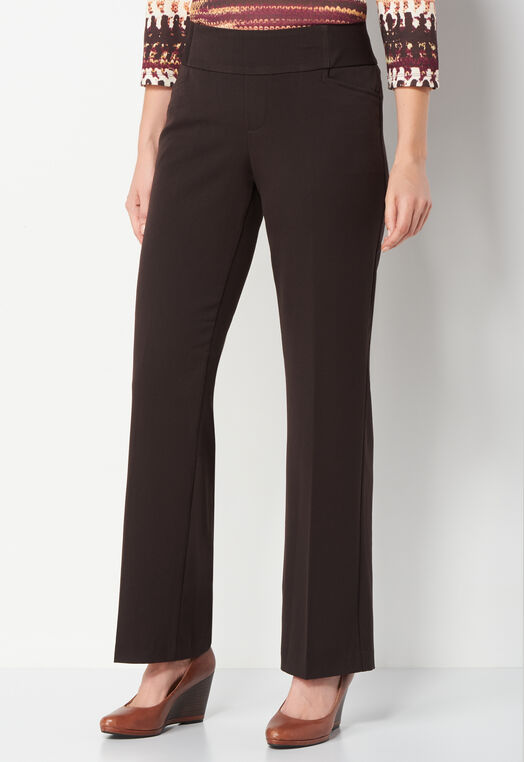 Pull-On Downtown Trouser Pant Average at Christopher & Banks in Charleston, WV | Tuggl