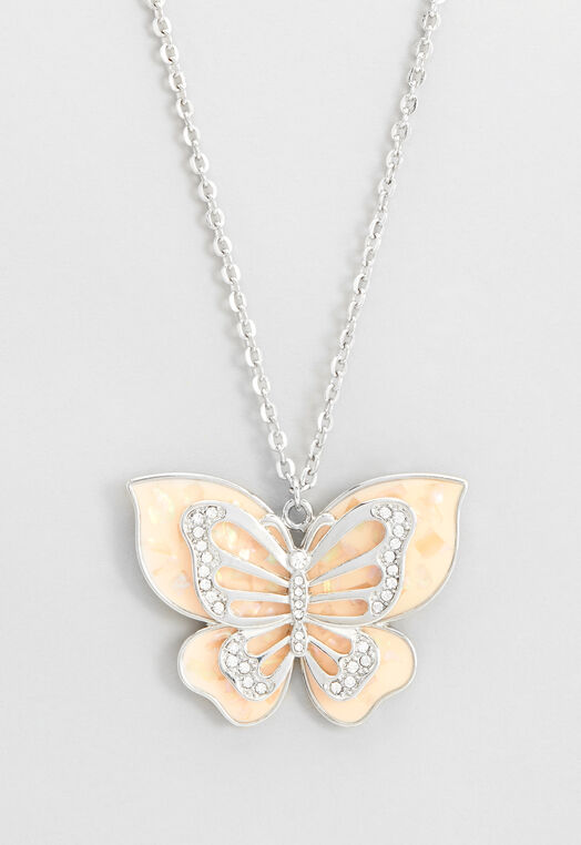 Long Butterfly Pendant at Christopher & Banks in Charleston, WV | Tuggl
