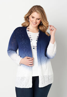 85295f34a88 ... Textured Yarn Ombre Plus Size Cardigan. Previous. The product image is  missing! The product image is missing! The product image is missing!