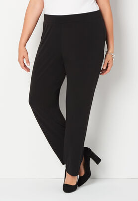 Easy Wear Slim Pull On Plus Size Pant - CBK Web Store