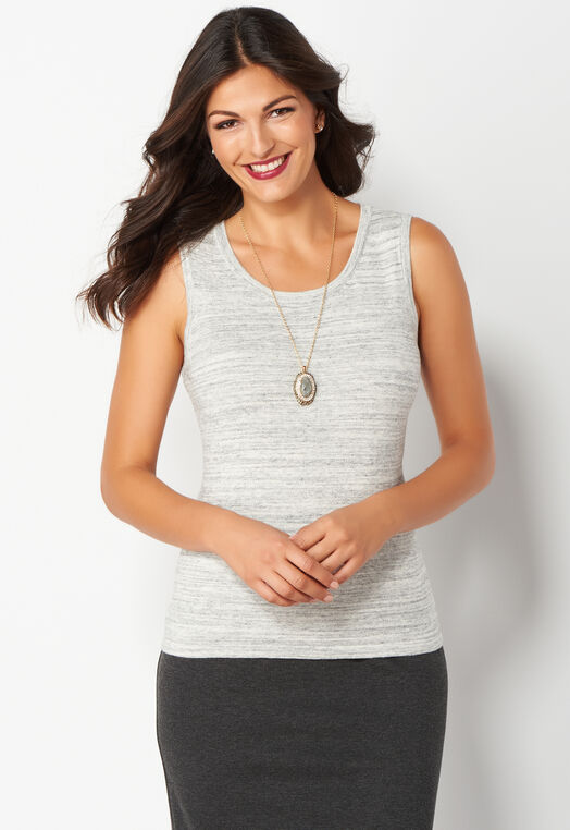 Heather Perfect Tank Sweater at Christopher & Banks in Charleston, WV | Tuggl