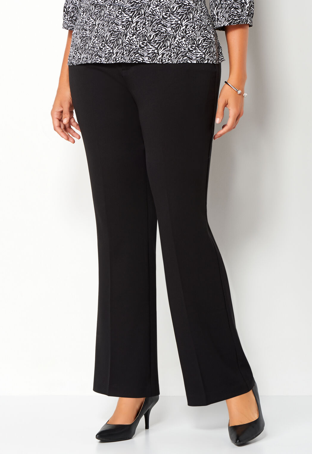 7c809fd520bbf Women s Plus Size Classic Fit Downtown Trouser Tall from Christopher ...