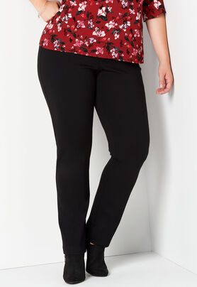 daa905612d4 Women s Ss Pull-On Ponte Solid from CJ Banks®