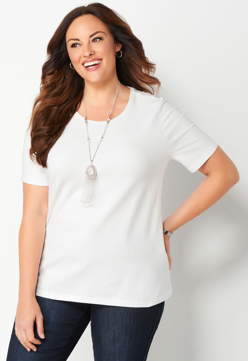 Women\'s Jewel Nk Tee from CJ Banks®