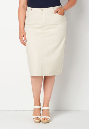 special section details for uk availability Plus Size Skirts - Maxi & Knee Length | Christopher & Banks®