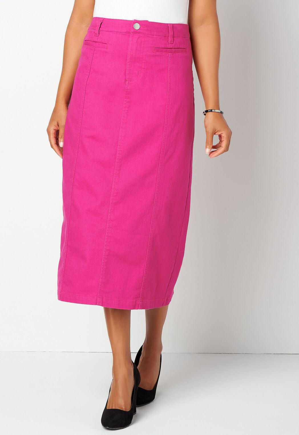 aebc65b9cbbdb Women s Button-Front Colored Deni from Christopher   Banks®