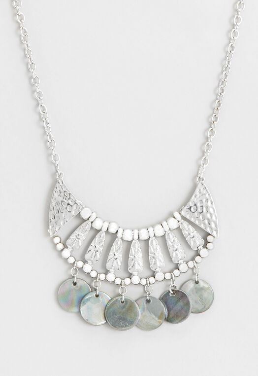 Beaded Statement Necklace at Christopher & Banks in Charleston, WV | Tuggl