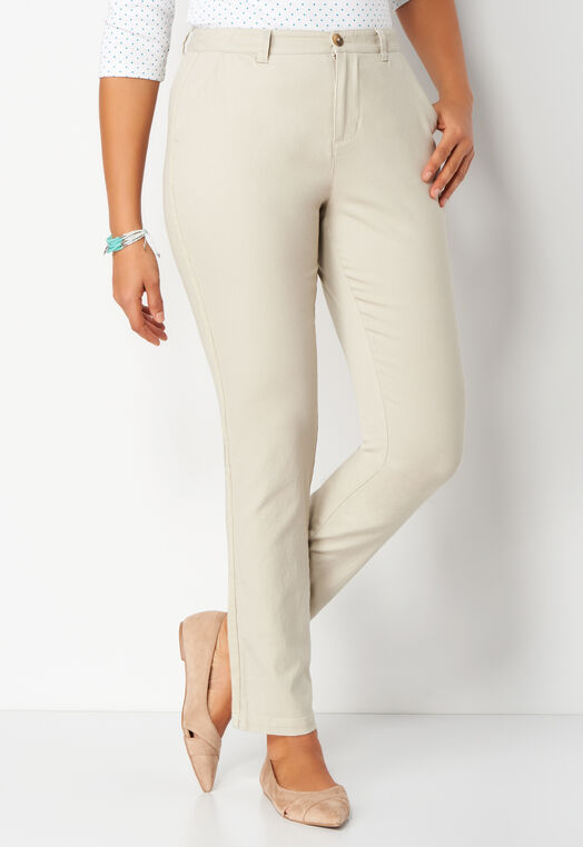 Twill Tape Petite Pant at Christopher & Banks in Charleston, WV | Tuggl
