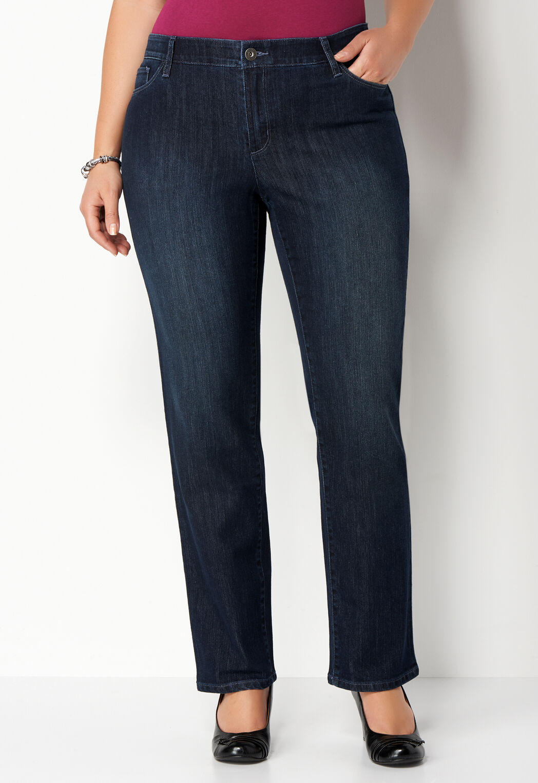 women's plus sized everyday denim plus size pant tall from