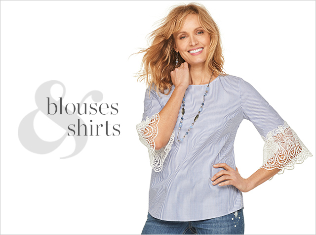 Clothing Category - Blouses and Shirts