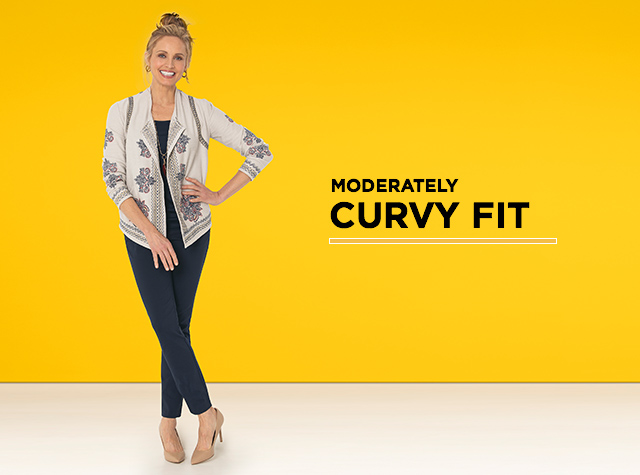 Moderately Curvy Fit