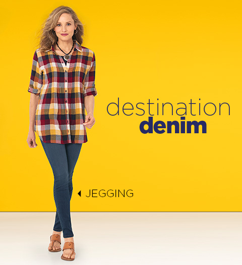Destination Denim: Jegging