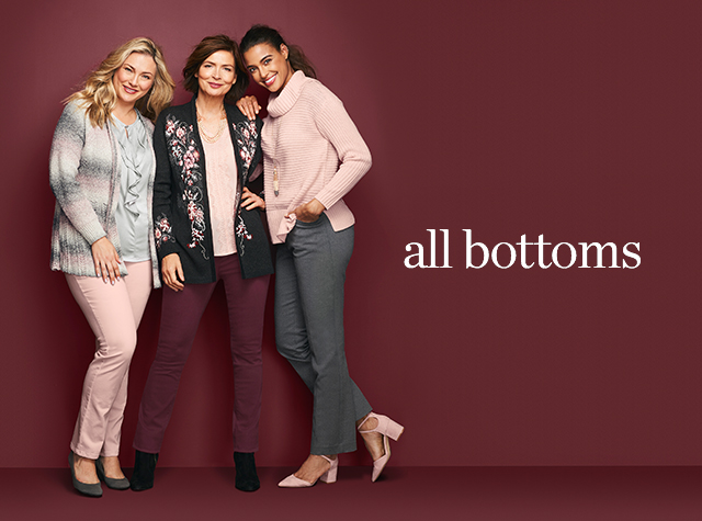 Christopher & Banks® | cj banks® Misses, Petite and Plus Size Women's Clothing Category - Missy | Women: All Bottoms