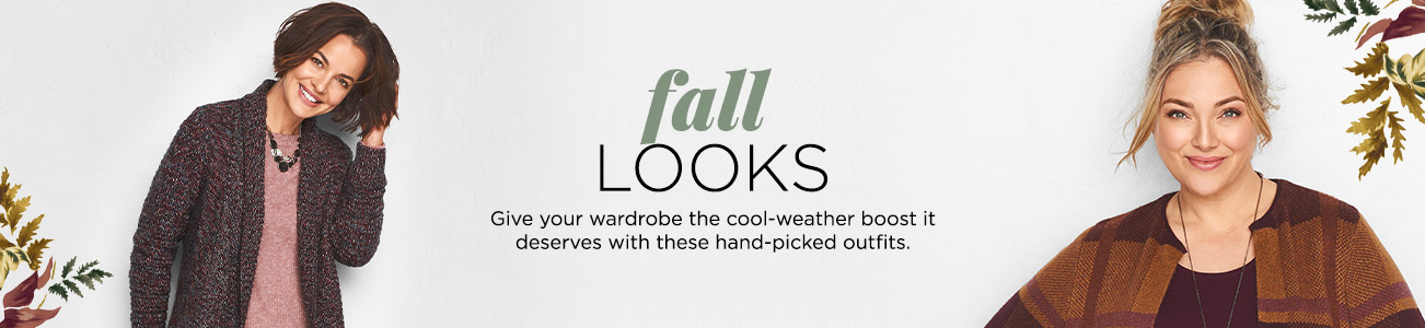 Fall Looks. Give your wardrobe the cool-weather boost it deserves with these hand-picked outfits.