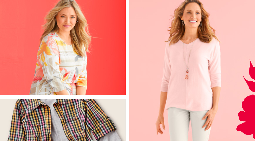 Spring Fling - Select Styles Starting At $19