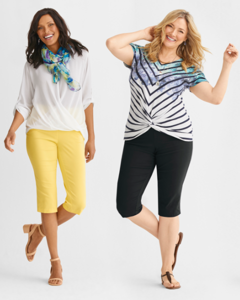 We've got you covered for spring and summer, top to bottom.