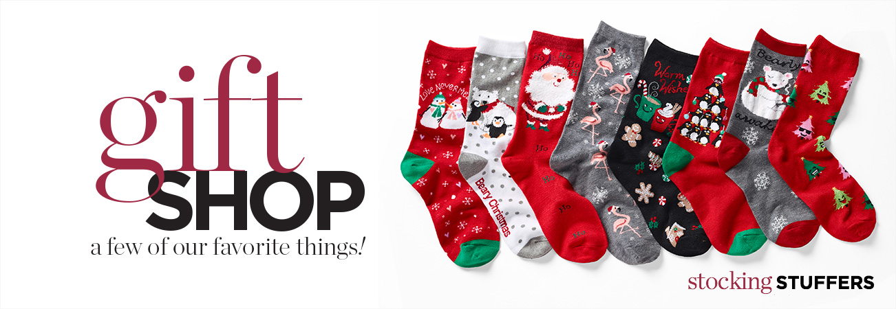Gift Shop: Stocking Stuffers — A Few Of Our Favorite Things!