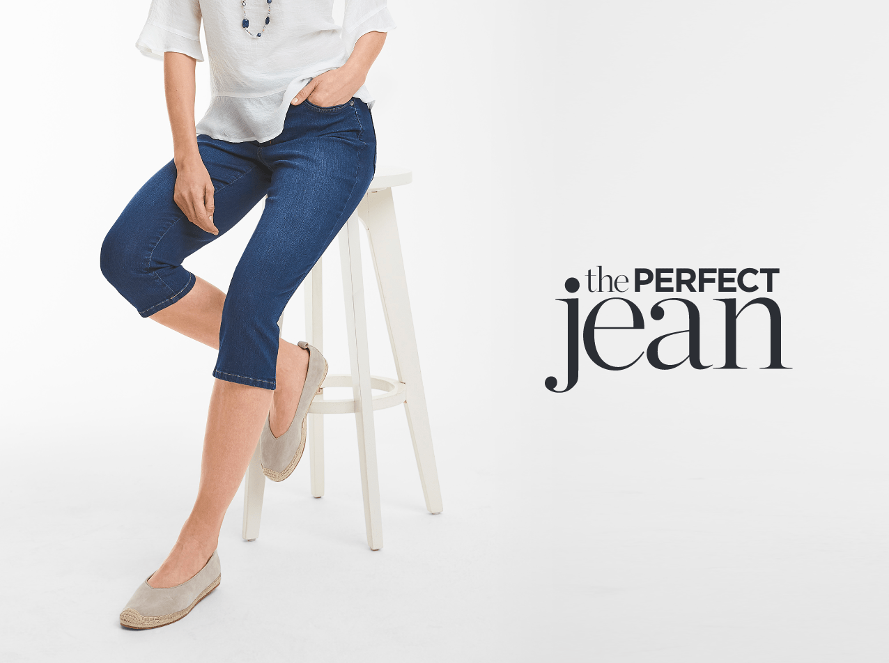 Crop Shop: The Perfect Jean.