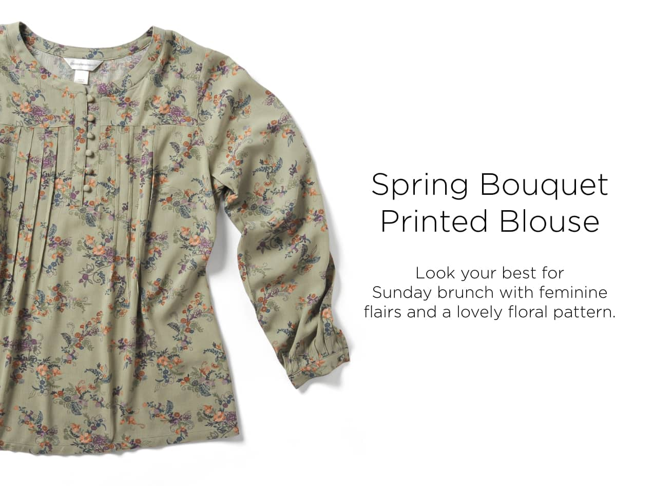Ways-to-Wear: Spring Bouquet Blouse