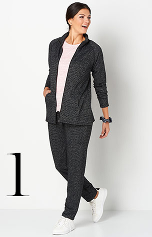 Ways-to-Wear: 1. relaxed.Restyled. Zip Up