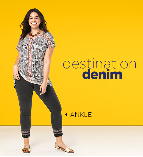 Destination Denim: Ankle