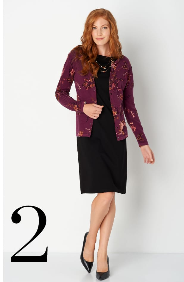 Ways-to-Wear our Perfect Fall Floral Cardigan