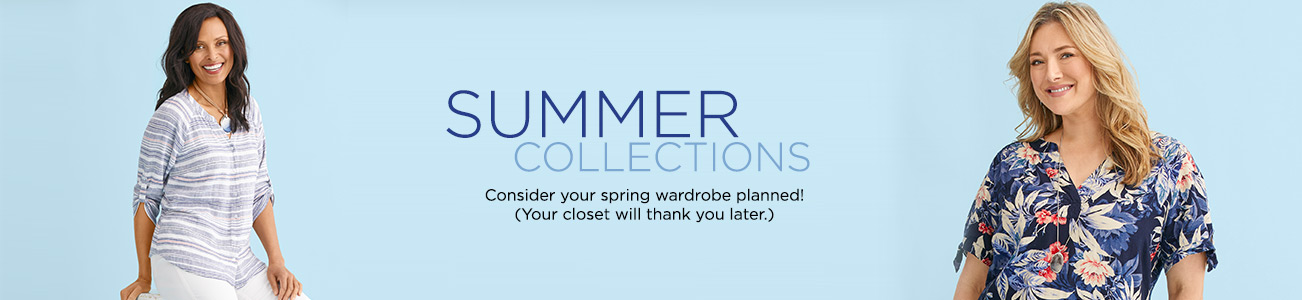 Summer Collections: Condsider you spring wardrobe planned! (Your closet will thank you later.)