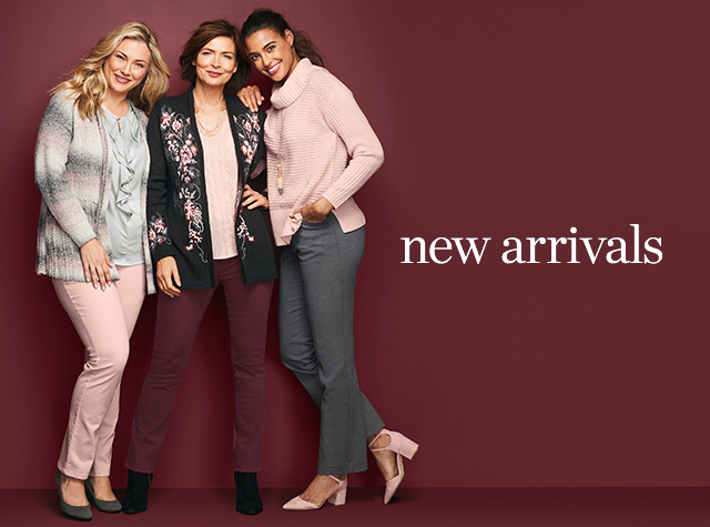 Christopher & Banks® | cj banks® Misses, Petite and Plus Size Women's Clothing Category - Missy | Women New Arrivals