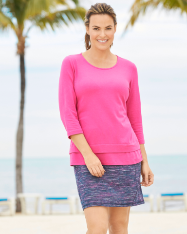 Relaxed. Restyled. Live In It. Embrace multi-color with this unique new look still with the same comfort you've come to love.