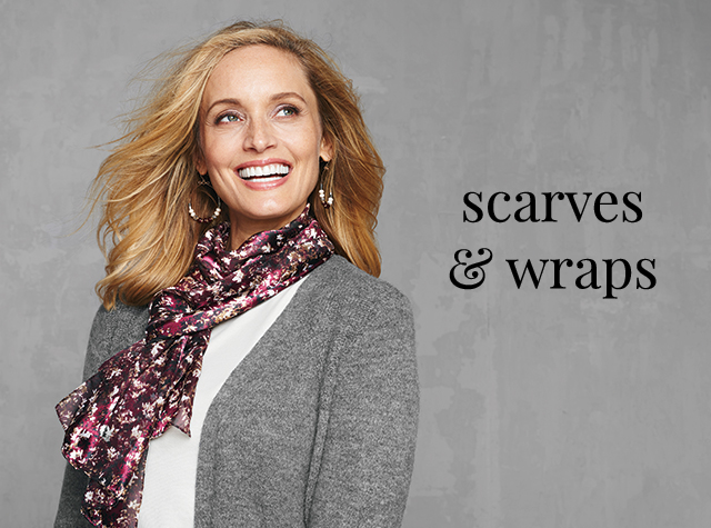 Christopher & Banks®   cj banks® Misses, Petite and Plus Size Women's Clothing Category - Scarves and Wraps